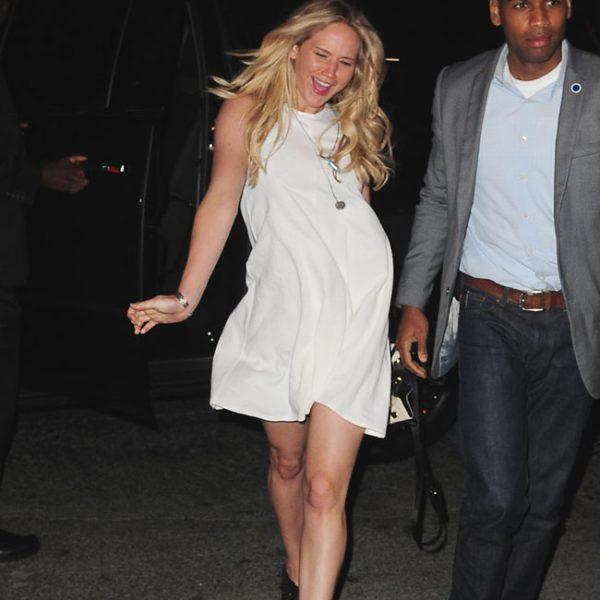 Jennifer Lawrence's party sickness