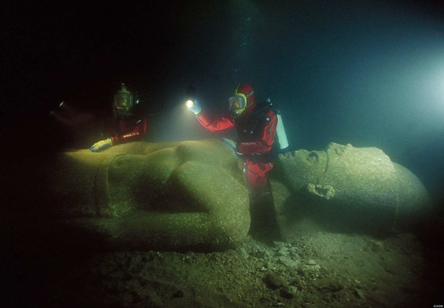 THE LOST CITY OF HERACLEION