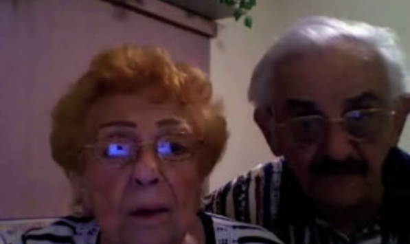 Grandparents Give Hilarious Marriage Message To Recently Engaged Grandchildren