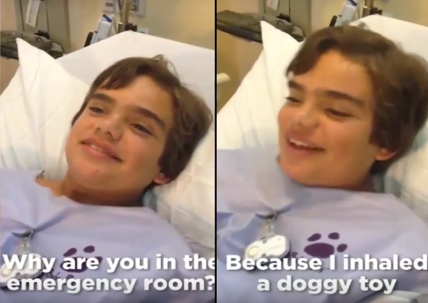 You'll Never Guess What Swallowing a Dog Toy Did To This Kid's Voice