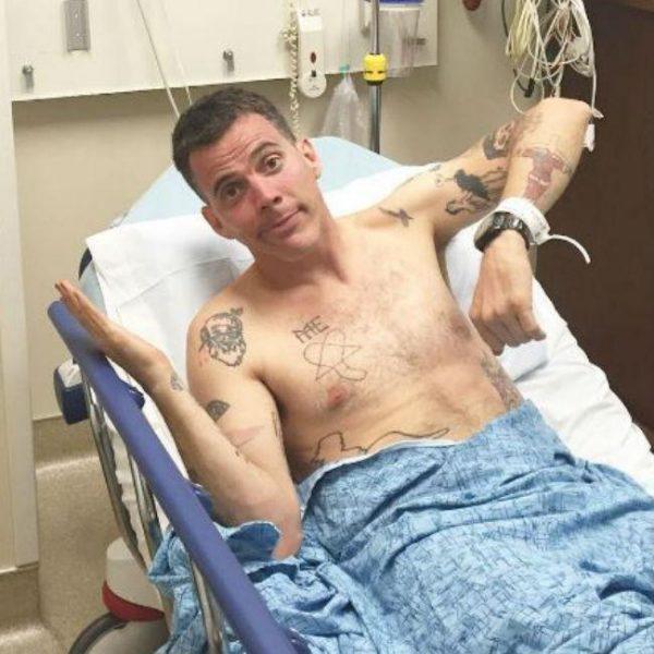 Steve-O broke both legs in skateboard accident