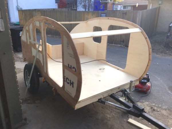 This Amazing Teardrop Trailer Was Built From Scratch