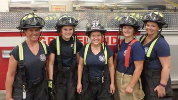 Five Female Firefighters Are Extinguishing Stereotypes And Fighting For Equality