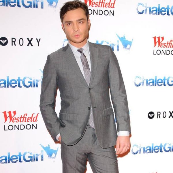 Ed Westwick doesn't like to moan about fame
