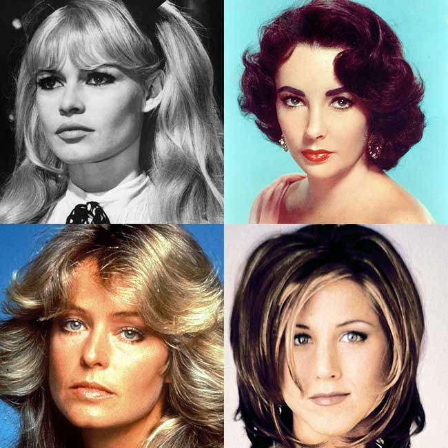 iconic Hollywood hairstyles