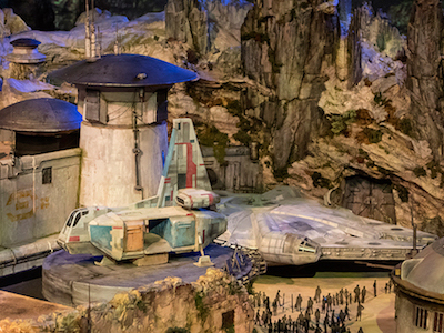 Disney Has Finally Revealed a Detailed Look at 'Star Wars' Land