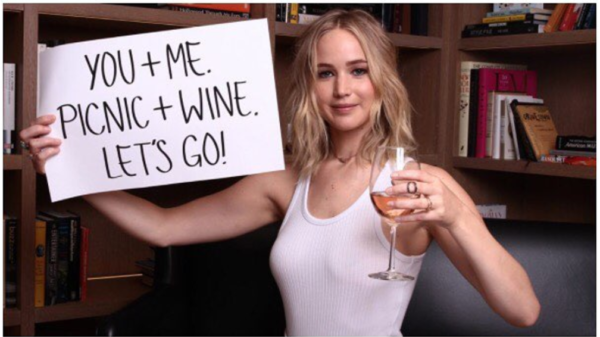 Partnering With Represent.Us, Fans Can Donate for a Chance to Go Wine Tasting With J-Law