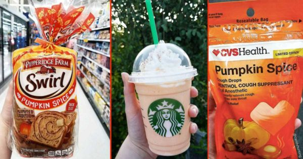 Weirdest Pumpkin Spice Products Yet Are Dominating Fall 2017