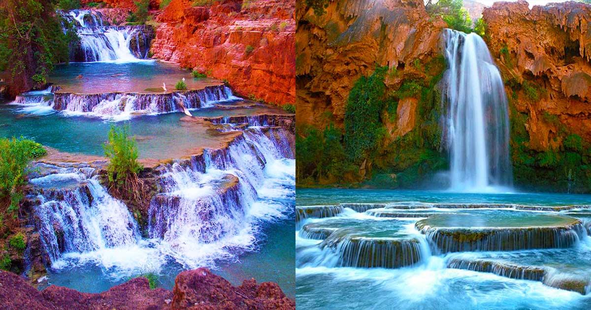 Foyer Oasis Grand Falls : Havasu falls hidden grand canyon oasis is a must see